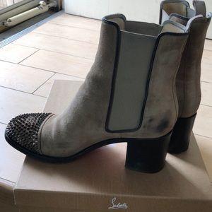 Christian louboutin 41 otaboo camel boot